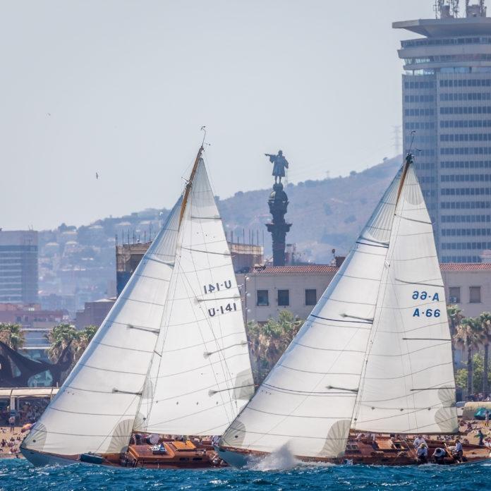 La regata Puig Vela Clàssica Barcelona alza el telón